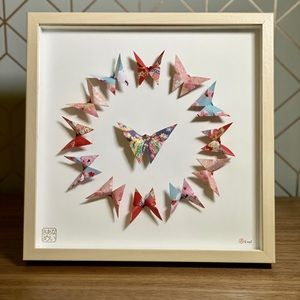 Original Handfolded Japanese Origami Artwork